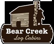 Bear Creek Log Cabins logo